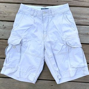 Polo Ralph Lauren Chino Cargo Shorts Mens Size 30
